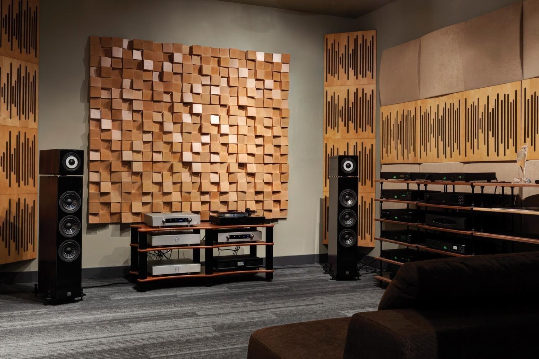 Применение акустических диффузоров
