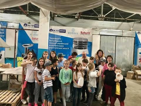 Студенти з ICU відвідали завод Saturn в Каневі