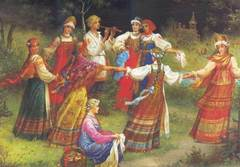 Выкройки русских сарафанов