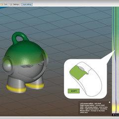Slic3r Prusa Edition представляет функцию плавного изменения высоты слоя