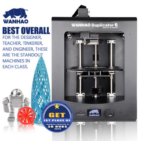 Wanhao Duplicator 6 - новый 3D-принтер от известного Китайского производителя