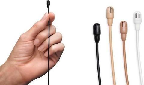 Суперминималистичные микрофоны Shure, теперь мовсем незаметные.