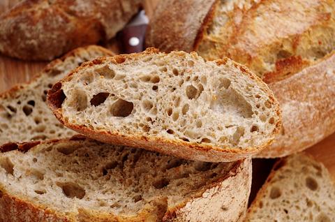 Хлеб с картошкой и укропом на закваске