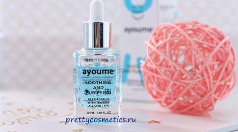 Успокоить кожу! Корейская сыворотка Ayoume Tea Tree Soothing-&-Purifying Serum