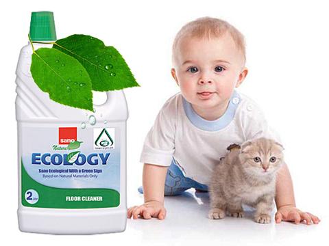 ВИДЕО Обзор полностью безопасного средства для мытья любых напольных покрытий Sano (Израиль).