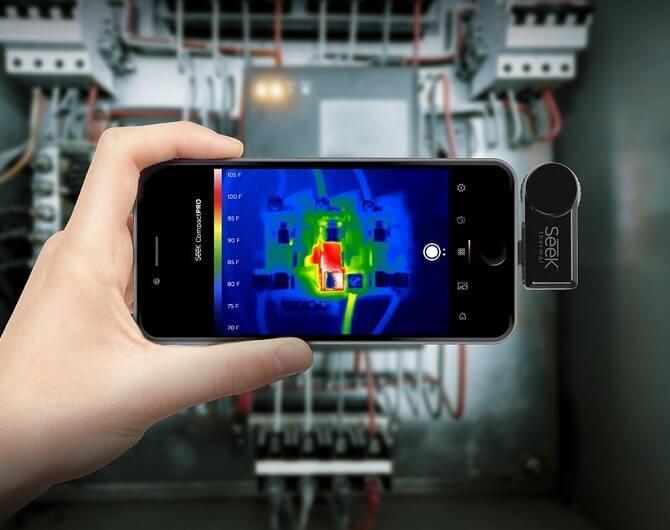 Как тепловизор для телефона поможет дачнику, хозяину квартиры и владельцу склада