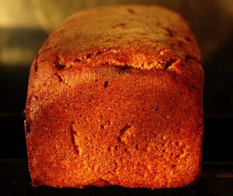 Очень простой ржаной хлеб