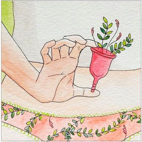5 плюсов многоразовых менструальных чаш