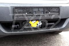 Скрытая установка лебедки на автомобиль Форд Транзит для МЧС.