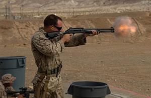 Для морпехов США создадут электрошоковые боеприпасы
