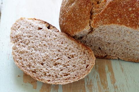 Пшеничный заварной, цельнозерновой на закваске