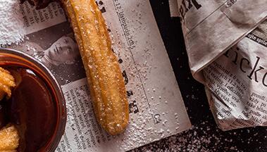 Хрустящий хлеб с базиликом