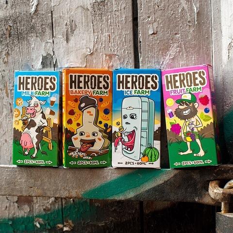 Новинка. Новые наборы в линейке Heroes Farm.
