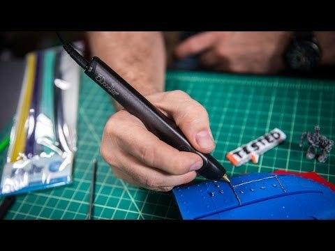 3Д ручка - видео уроки