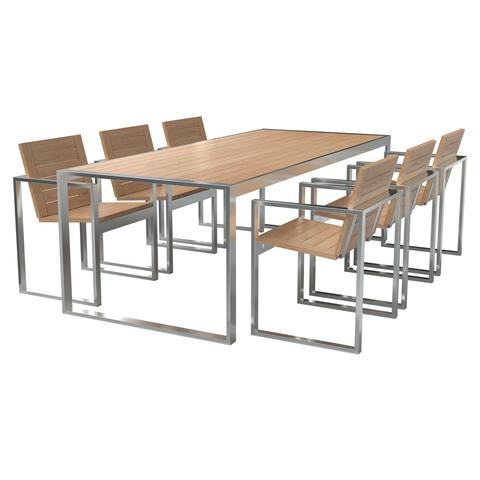 TRIF-MEBEL | Комплект уличной мебели  – идеальное решение для лаунж-зоны кафе на свежем воздухе