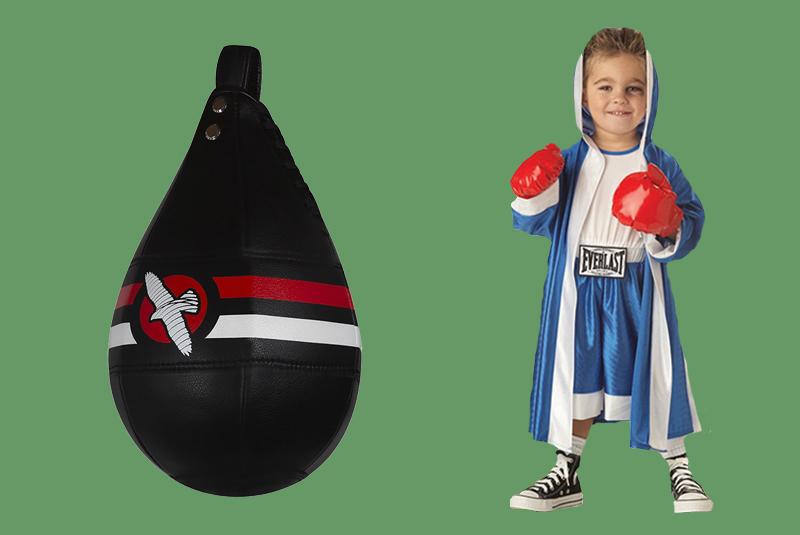 Как выбрать боксерскую грушу для ребенка?