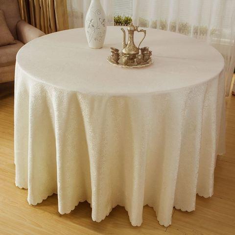 Льняные скатерти на круглый стол