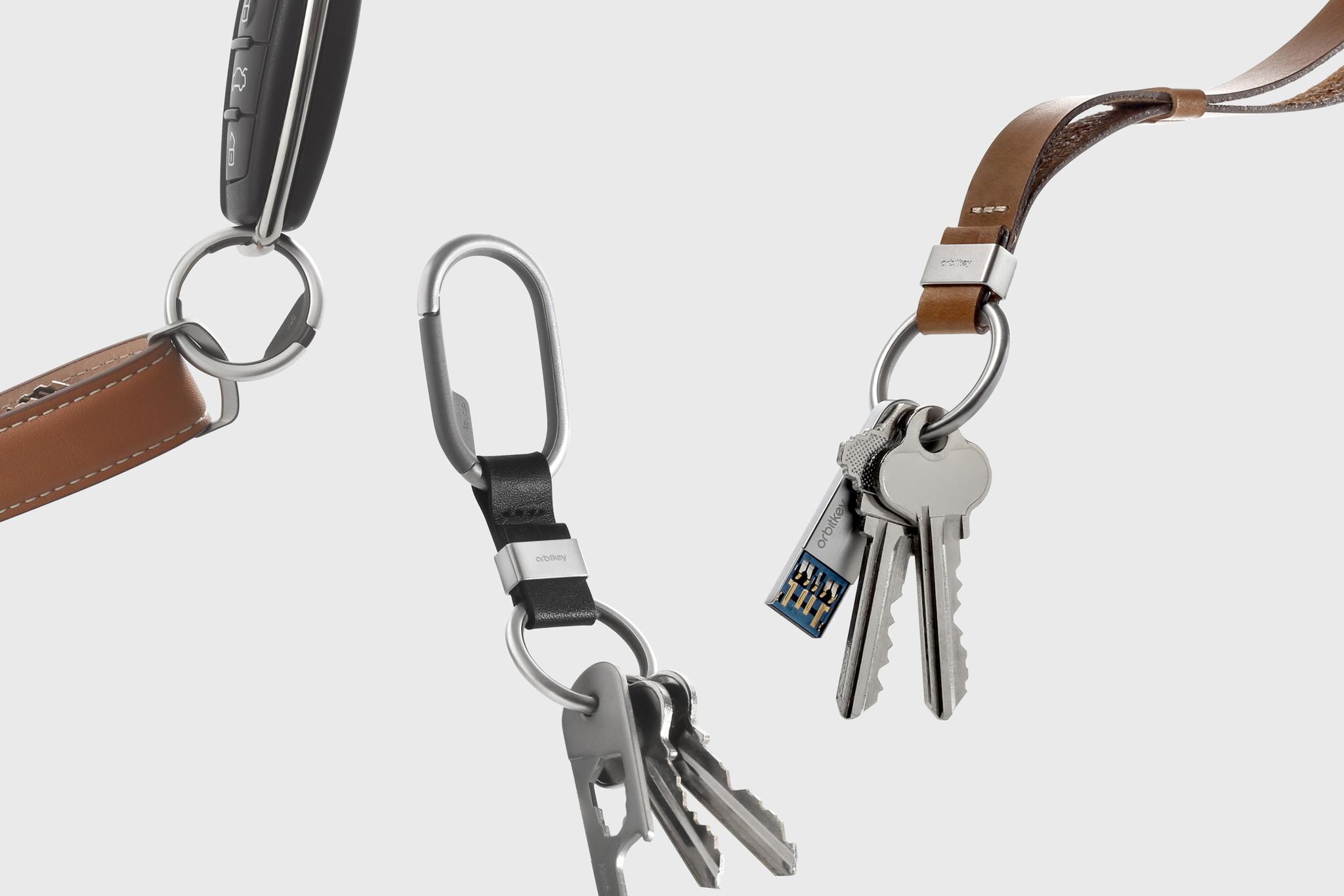 Обзор аксессуаров для ключей от Orbitkey