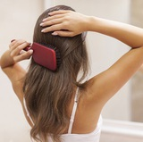 занятие по уходу за волосами