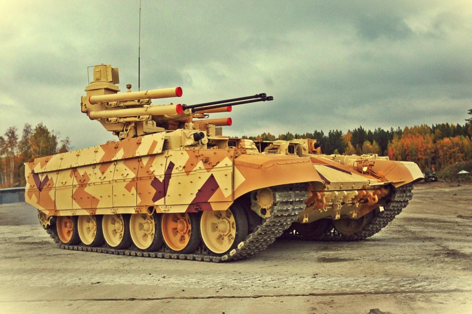 """Терминатор-3"" встанет на защиту танков"