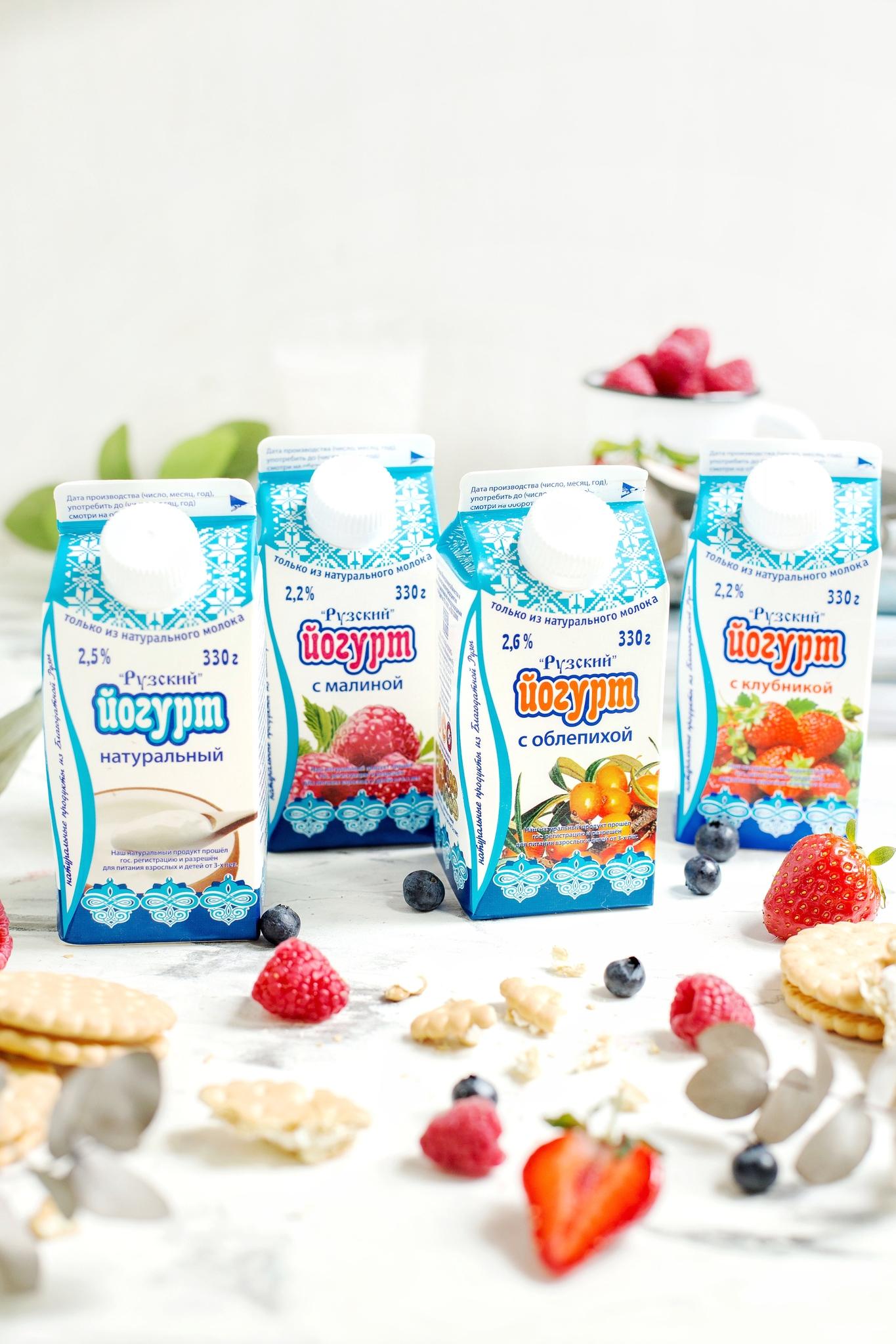Рузский йогурт в подарок за первый заказ