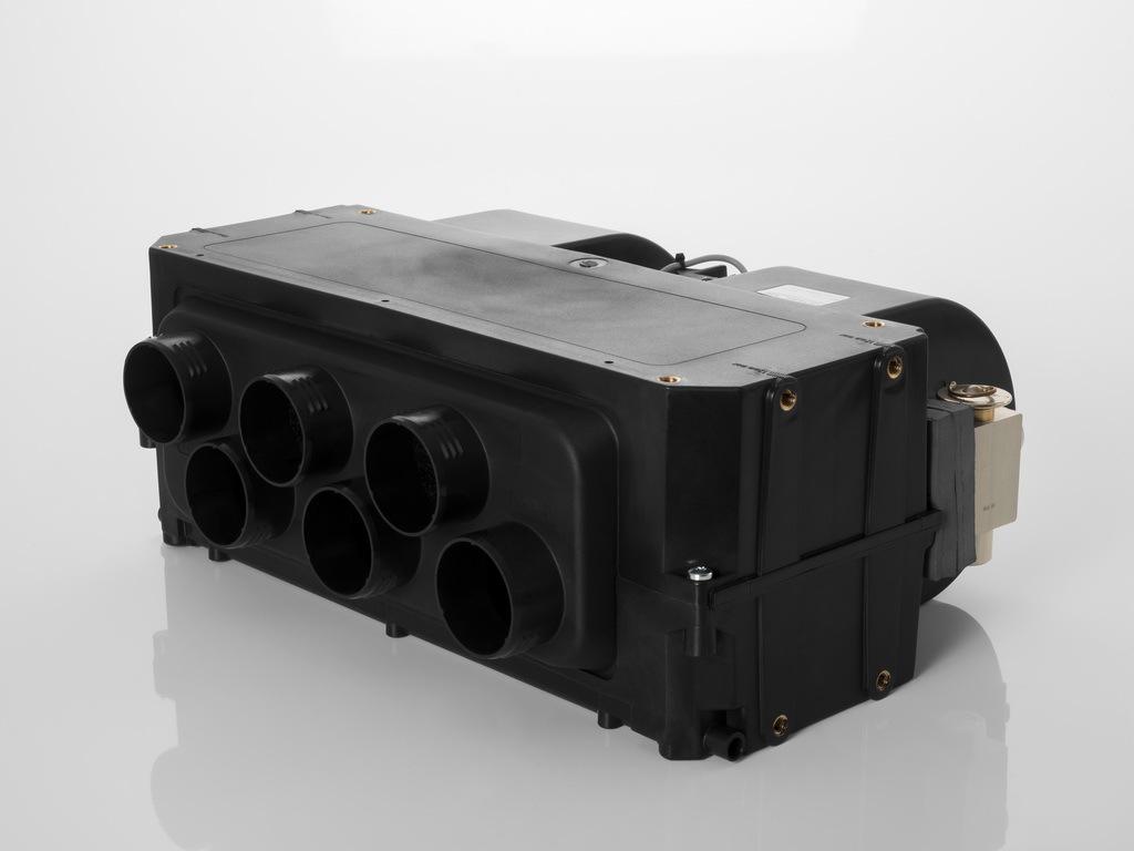 Bauma 2019: оптимальное управление температурой из одного источника- Полный тепловой контроль для строительной техники