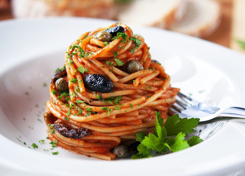 Паста Путанеска / Pasta Аlla Puttanesca