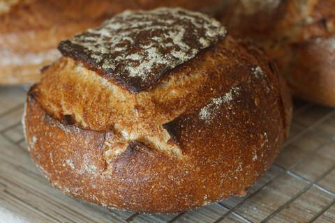 Яблочный хлеб на закваске