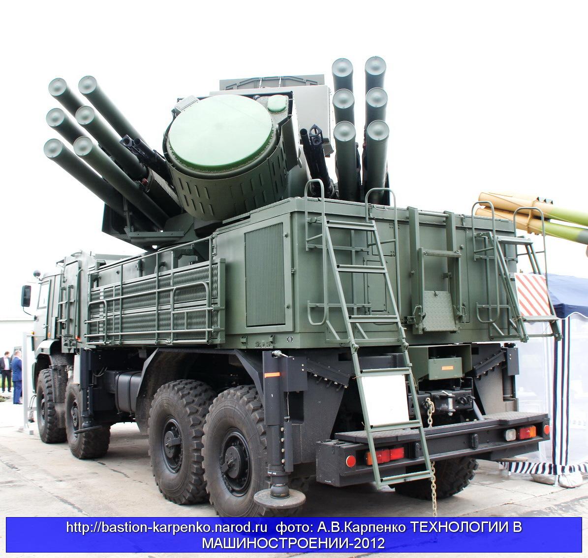 """""""Панцирь-С1"""" закроет Крым от возможных атак"""