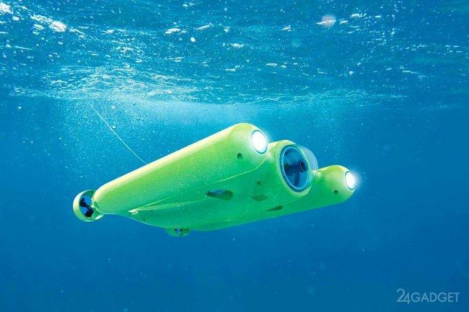 Подводный дрон Gladius для видеосъемки морских глубин