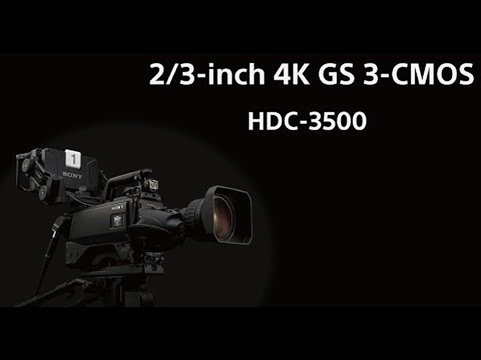 Видеокамеры Sony HDC-3500 и HXR-NX200 представлены