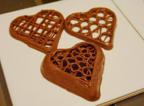 3D-десерты ко Всемирному дню шоколада