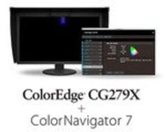 EIZO представляет 27-дюймовый графический HDR-монитор с поддержкой ПО для управления цветом ColorNavigator 7