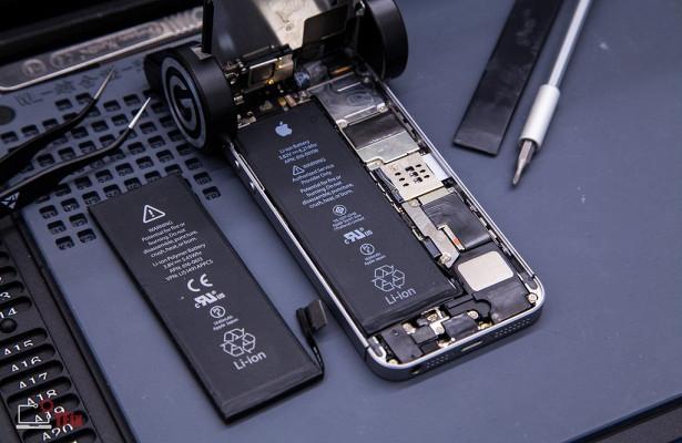 iPhone перестанет отображать состояние аккумулятора после неофициального ремонта
