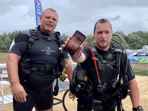 iPhone X выжил после двух дней на дне озера