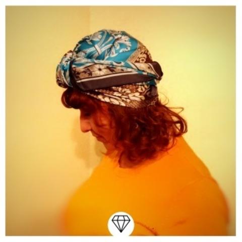 Способ ношения платка на голове от Ирочки