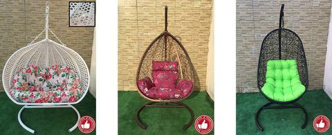 Подвесные кресла – весенняя распродажа!