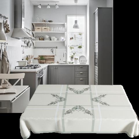 Фото скатертей Demodecor, подборка для кухонь Икеа