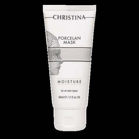 Увлажняющая фарфоровая маска Christina для уставшей после зимы кожи
