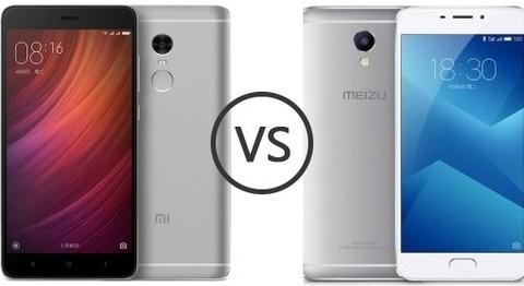Meizu M5 против Xiaomi Redmi 4: какой из двух смартфонов лучше купить?