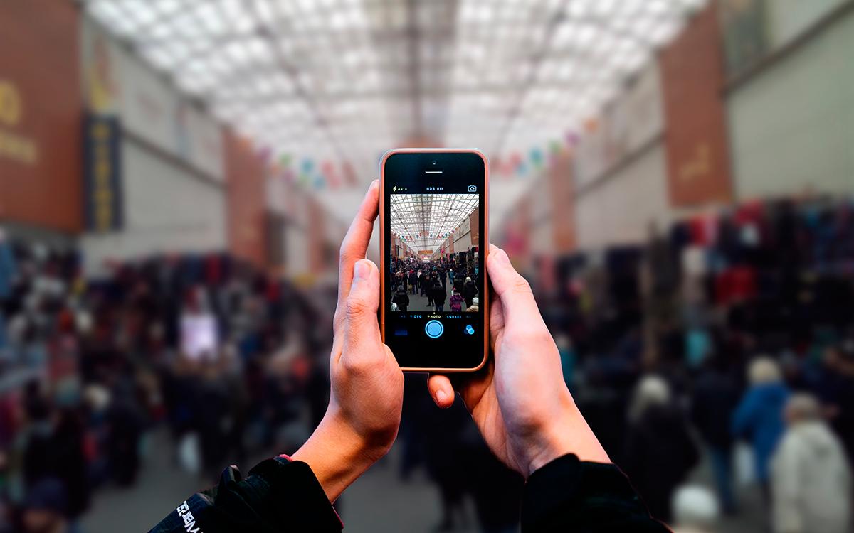 Более 400 тысяч пользователей «зачекинилось» за месяц на рынке Садовод