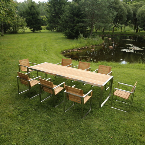 TRIF-MEBEL | Manufacture Of Metal-And-Wood Garden Furniture In St. Petersburg