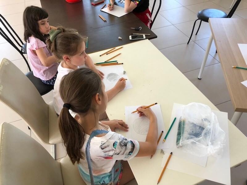 Уроки графики в «Романовском Парке»