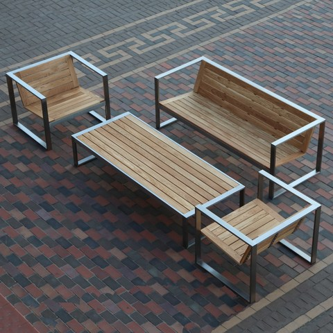 Quality Wood-And-Metal Garden Furniture From The Manufacturer