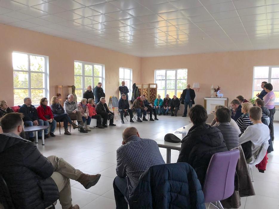 21 декабря в «Романовском Парке» прошло собрание жителей