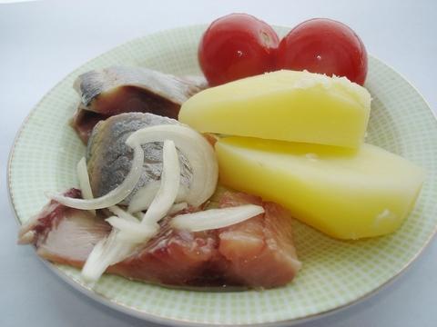 Закуска из селёдки. Рецепт с итоговой фотографией