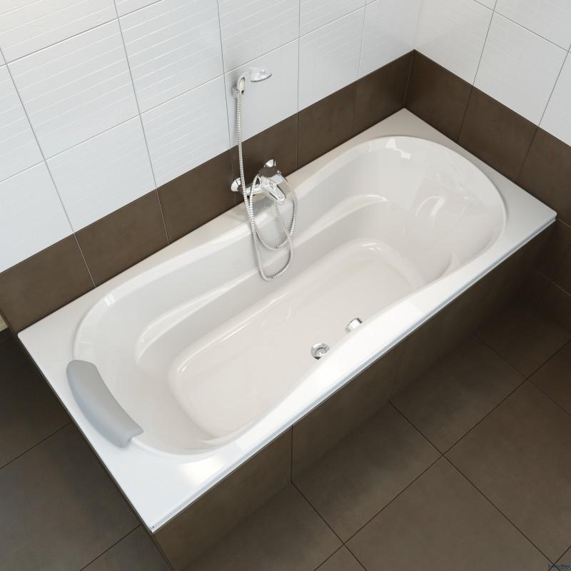 Ухаживаем за акриловой ванной