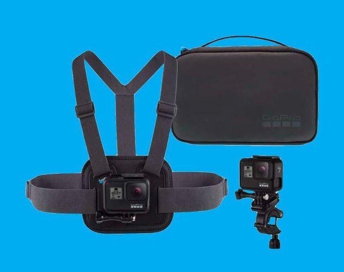 Набор аксессуаров GoPro Sport Kit – комплект для активных влогеров и путешественников