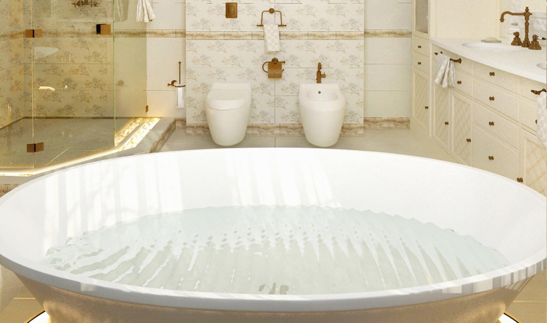 Полимерные ванны: из литьевого мрамора, из старилана, из кварила