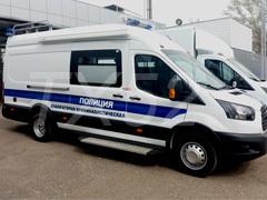 Установка автомобильных маркиз на микроавтобусы Форд (Ford)